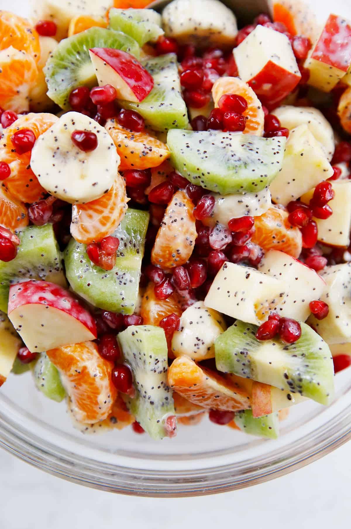 The Best Winter Fruit Salad