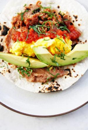 ATX Inspired Breakfast Tacos
