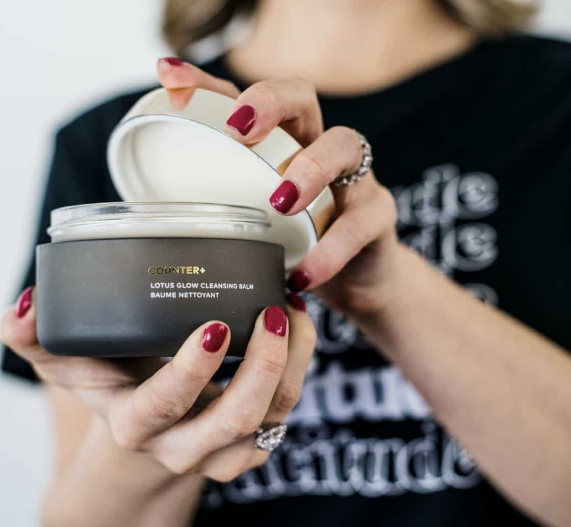Beautycounter Cleansing Balm for skincare routine.