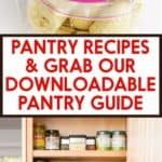 Pantry Recipes and Pantry Guide
