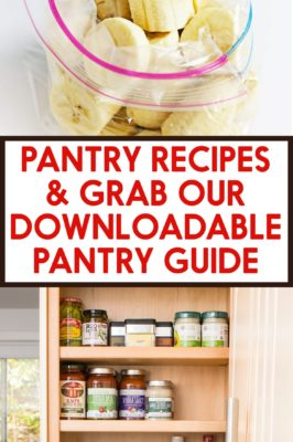 Simple Pantry Recipes and Guide