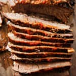 Slow cooker brisket.