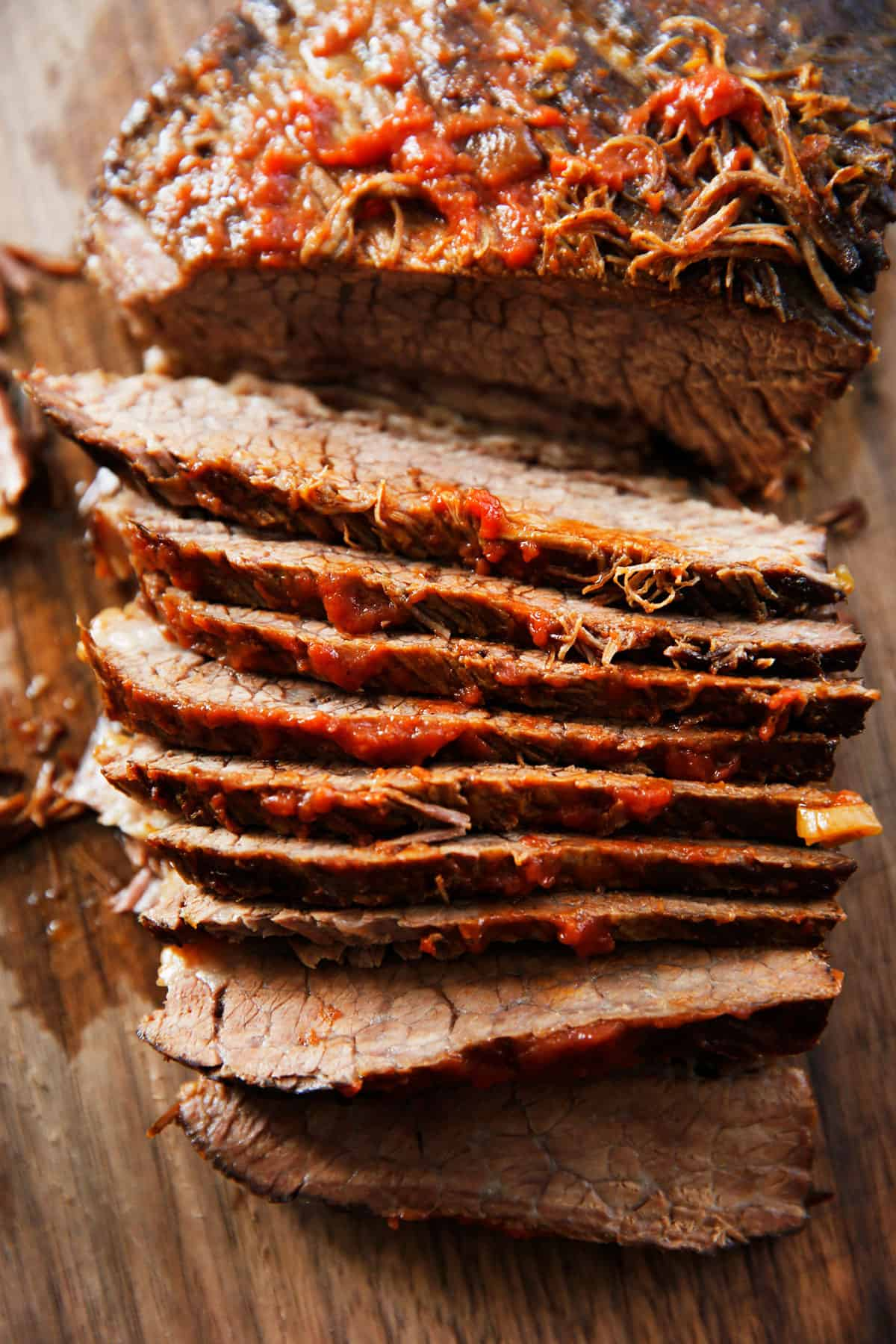 Instant Pot or Slow Cooker Brisket