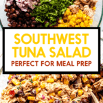 Southwest Tuna salad image for punters.
