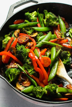 Easy Stir Fry Veggies