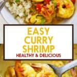 Easy shrimp curry.