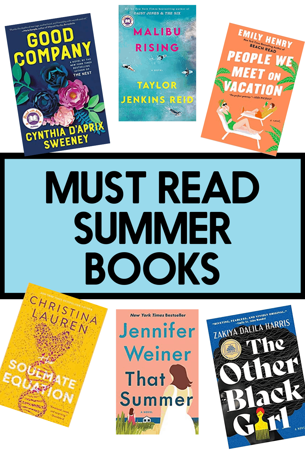 Books to read this summer.