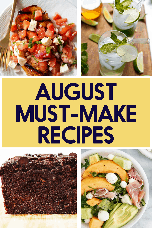 Recipes popular in august.