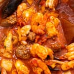 Easy cioppino stew.