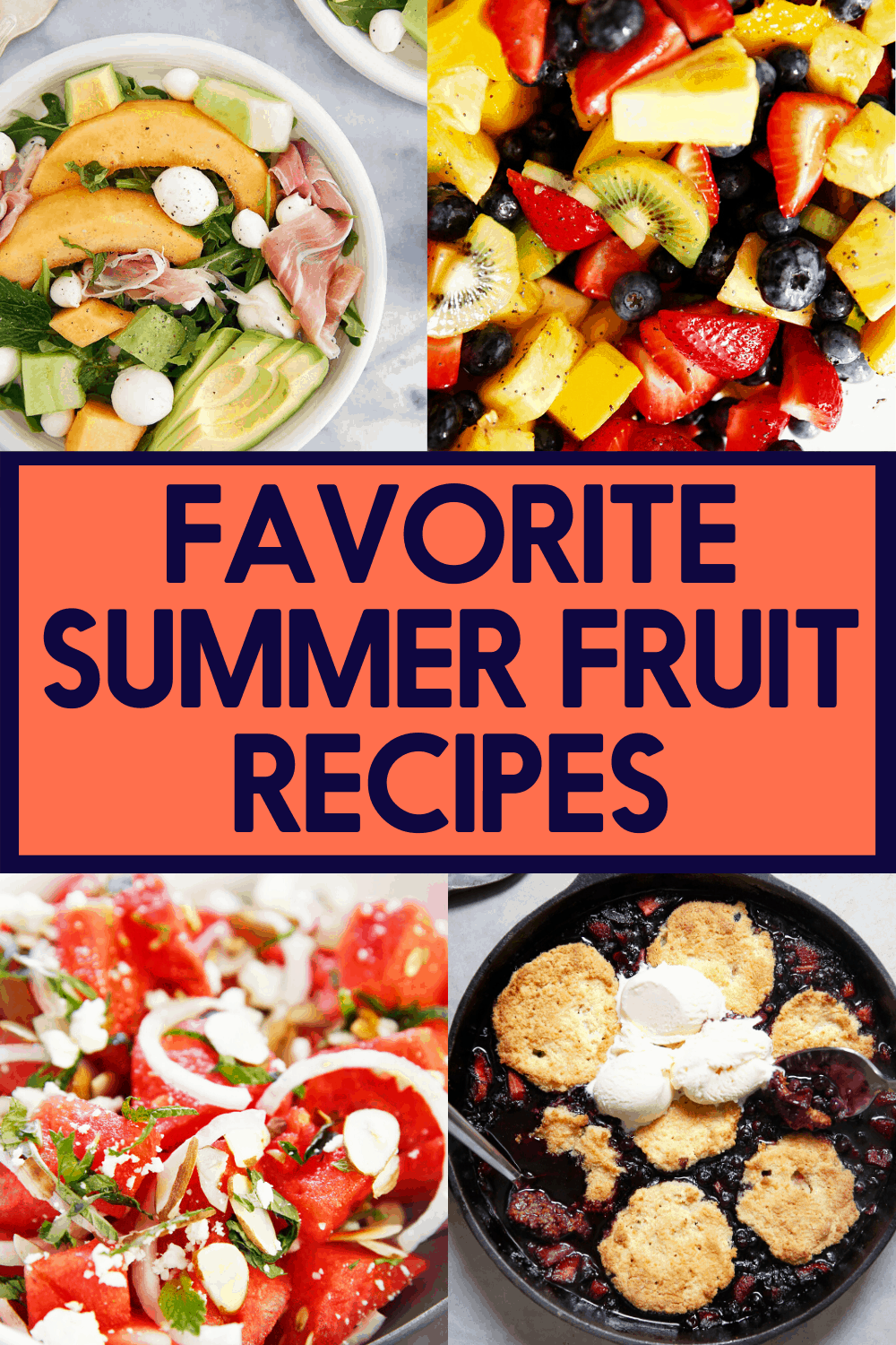 Fruit recipes to make this summer