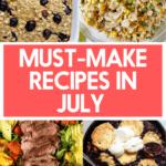 July Recipes