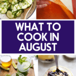 Popular recipes in August.