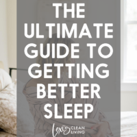 The Ultimate Guide to Better Sleep