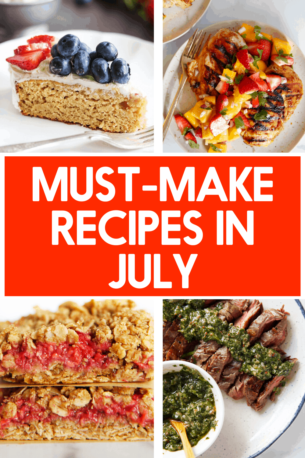 Must make recipes in July