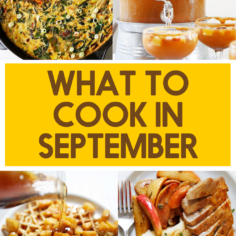 What to Cook this September