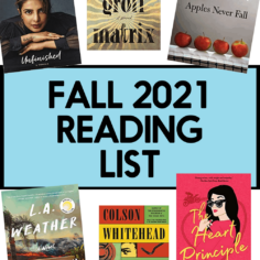 16 Books to Read this Fall