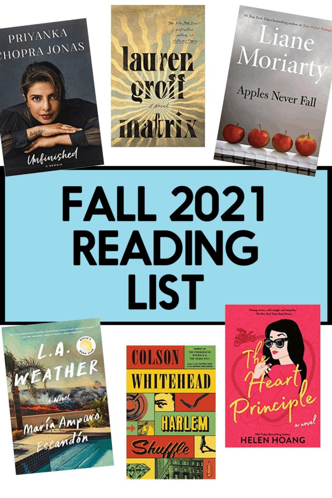 Fall 2021 Reading List