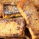 Freezer-friendly French toast sticks.