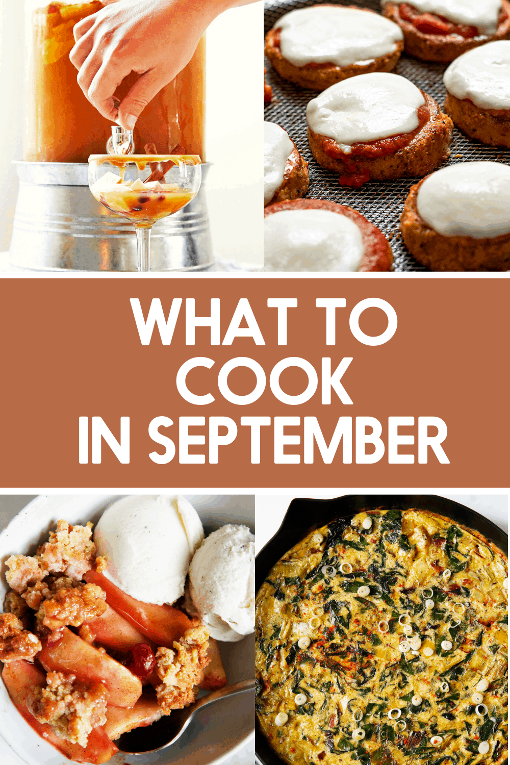 Recipes ideas to cook in September