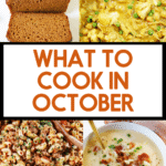What to cook in October.