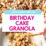 birthday cake granola.