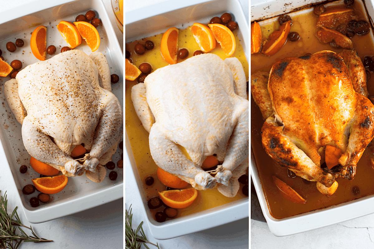 Steps to Make Cranberry Orange Chicken