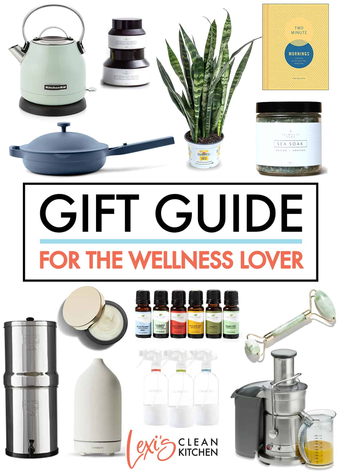 2021 Holiday Gift Guide for Wellness + Self-Care