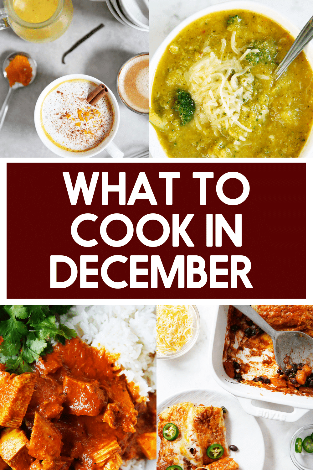 What to cook in December.