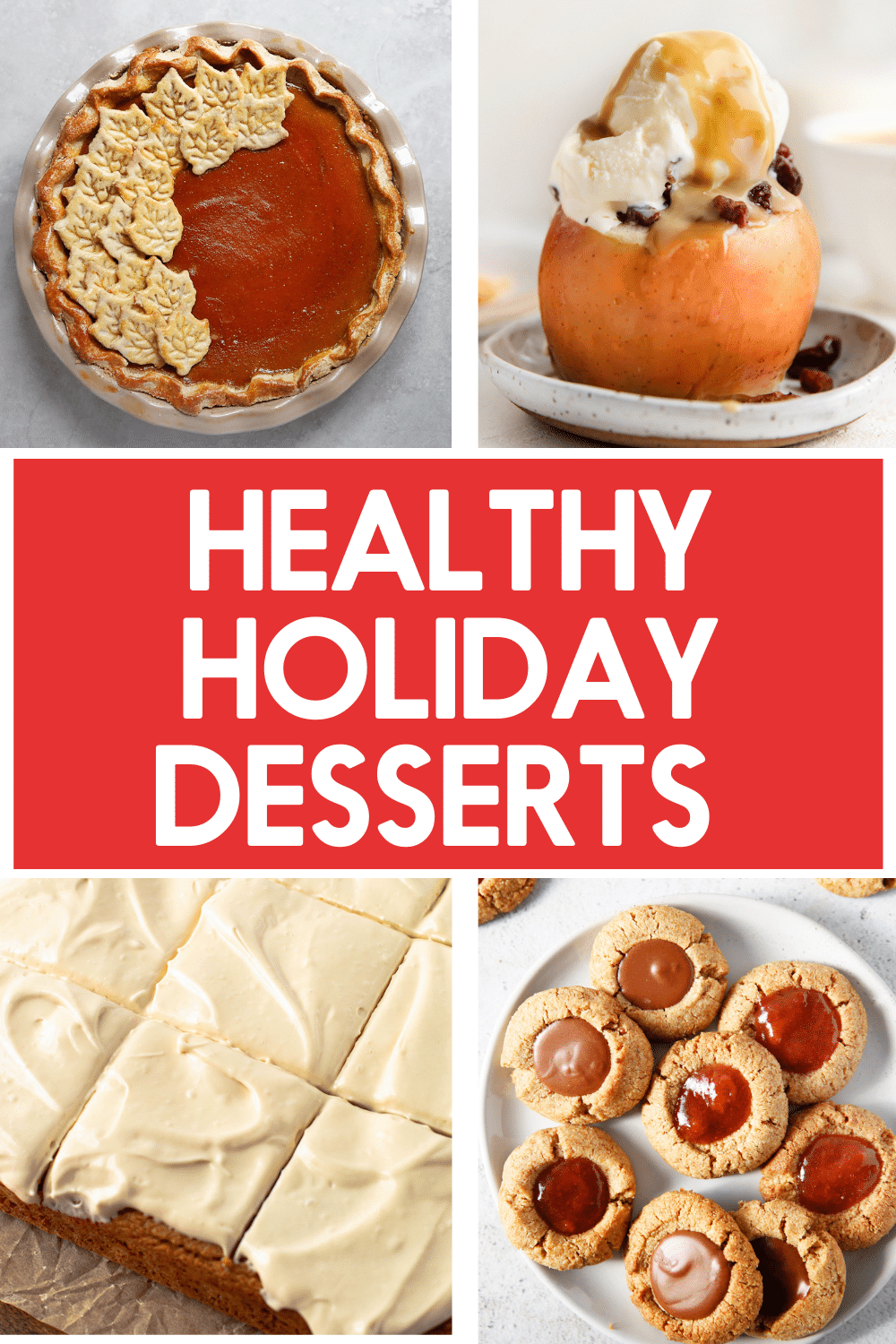 Holiday desserts.