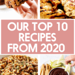 Top 10 recipes from 2020
