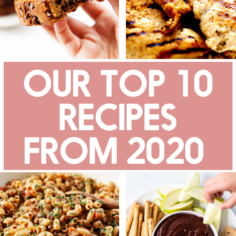 Top Recipes of 2020!