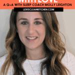 Clean Living Conversations Sleep Training