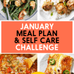 January Meal Plan Challenge