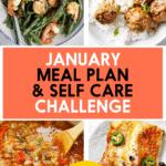 January Meal Plan Challenge