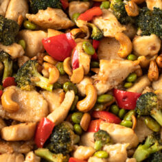 One-Pan Paleo Cashew Chicken