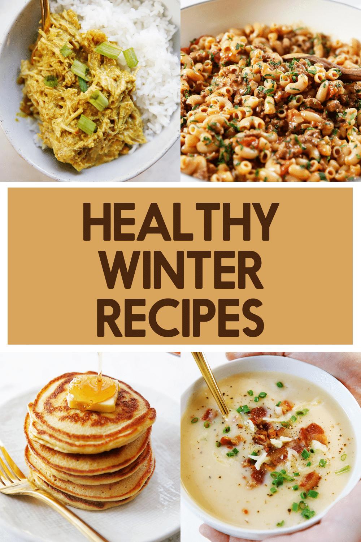 Healthy winter recipes