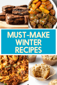 Must make winter recipes.