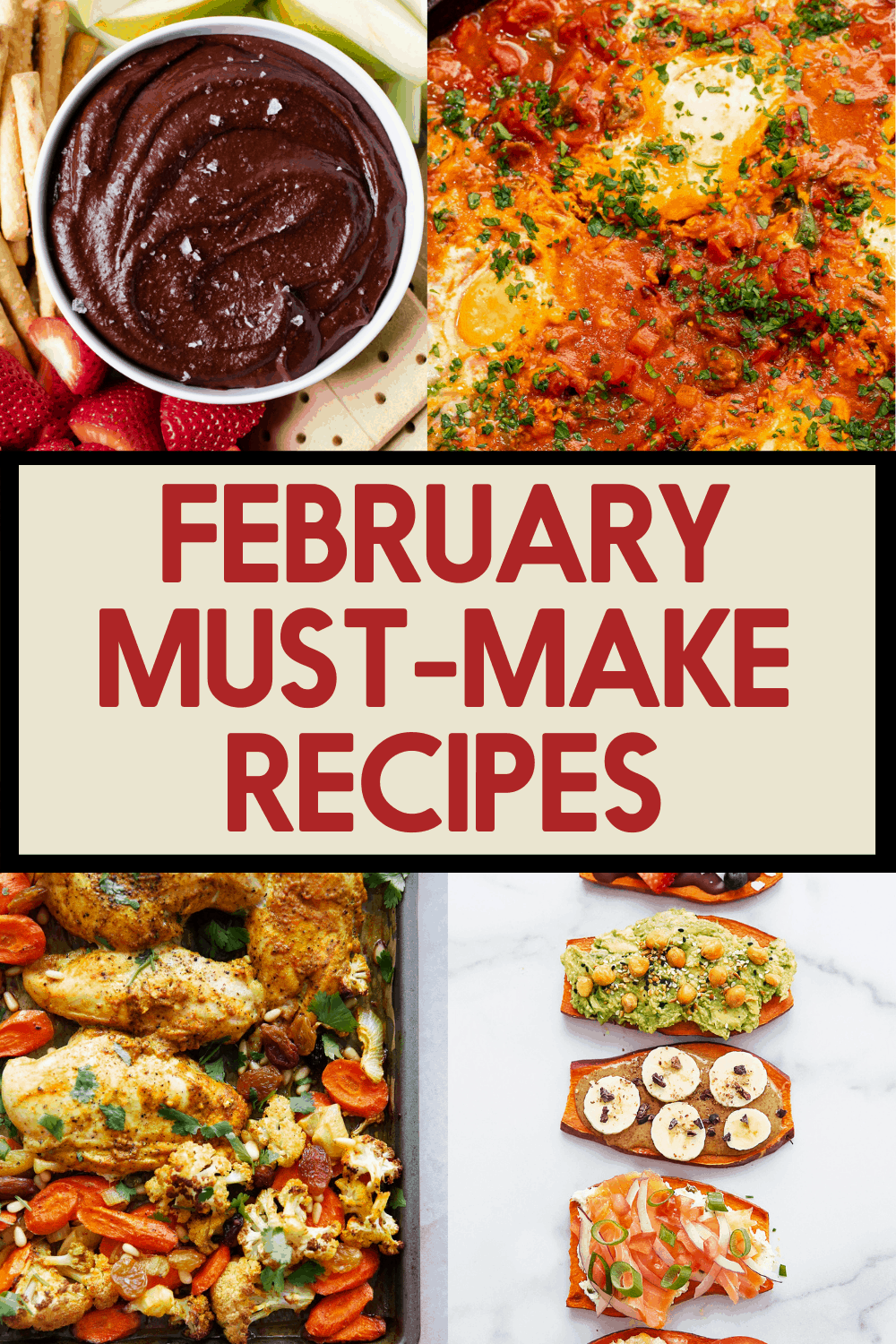 Dishes that are good to make in February.