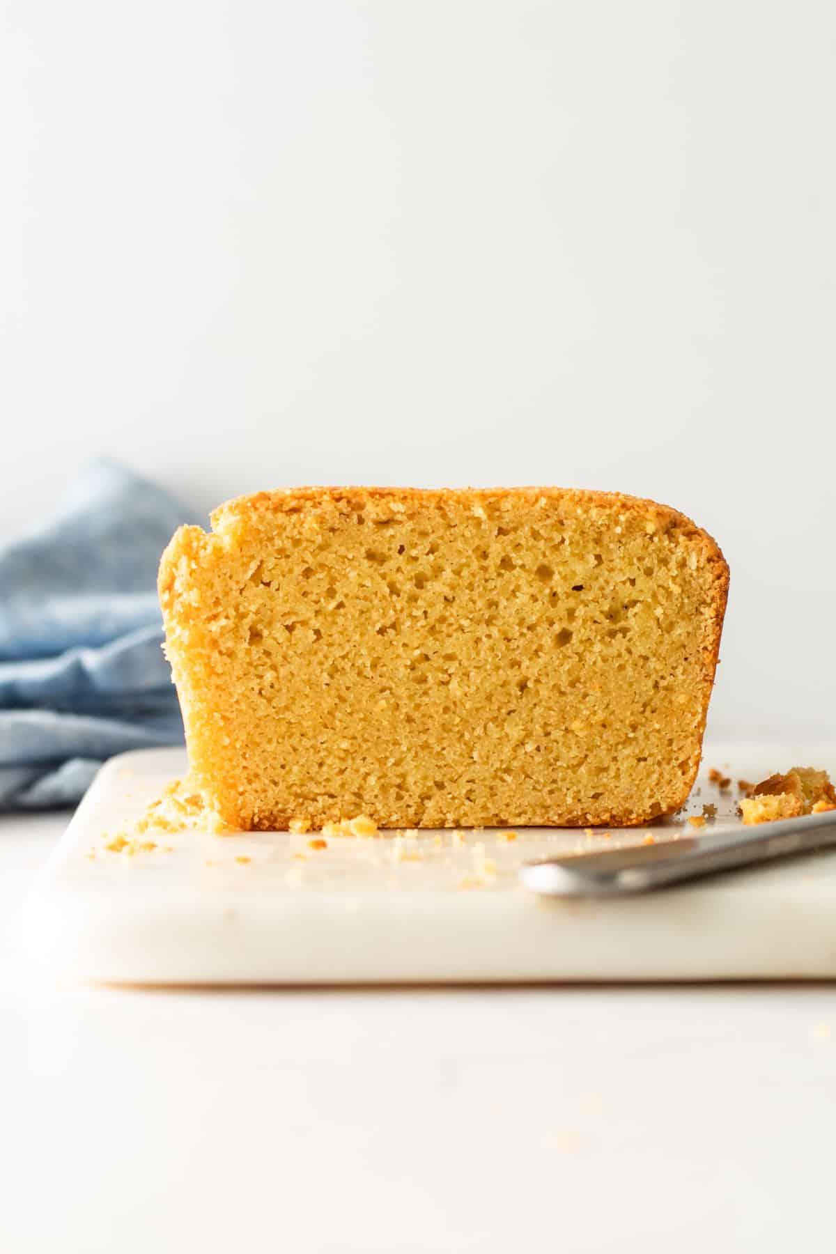 Gluten-free pound cake.