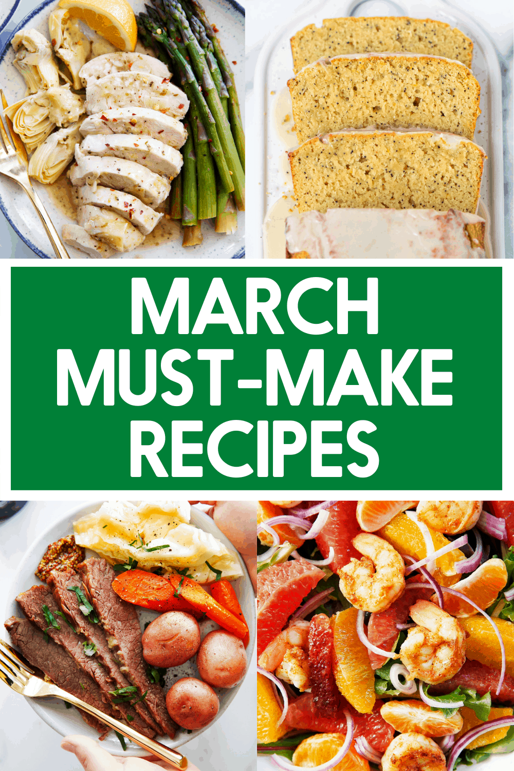 Recipe to make in March.