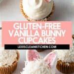 Gluten-free Bunny Cupcakes