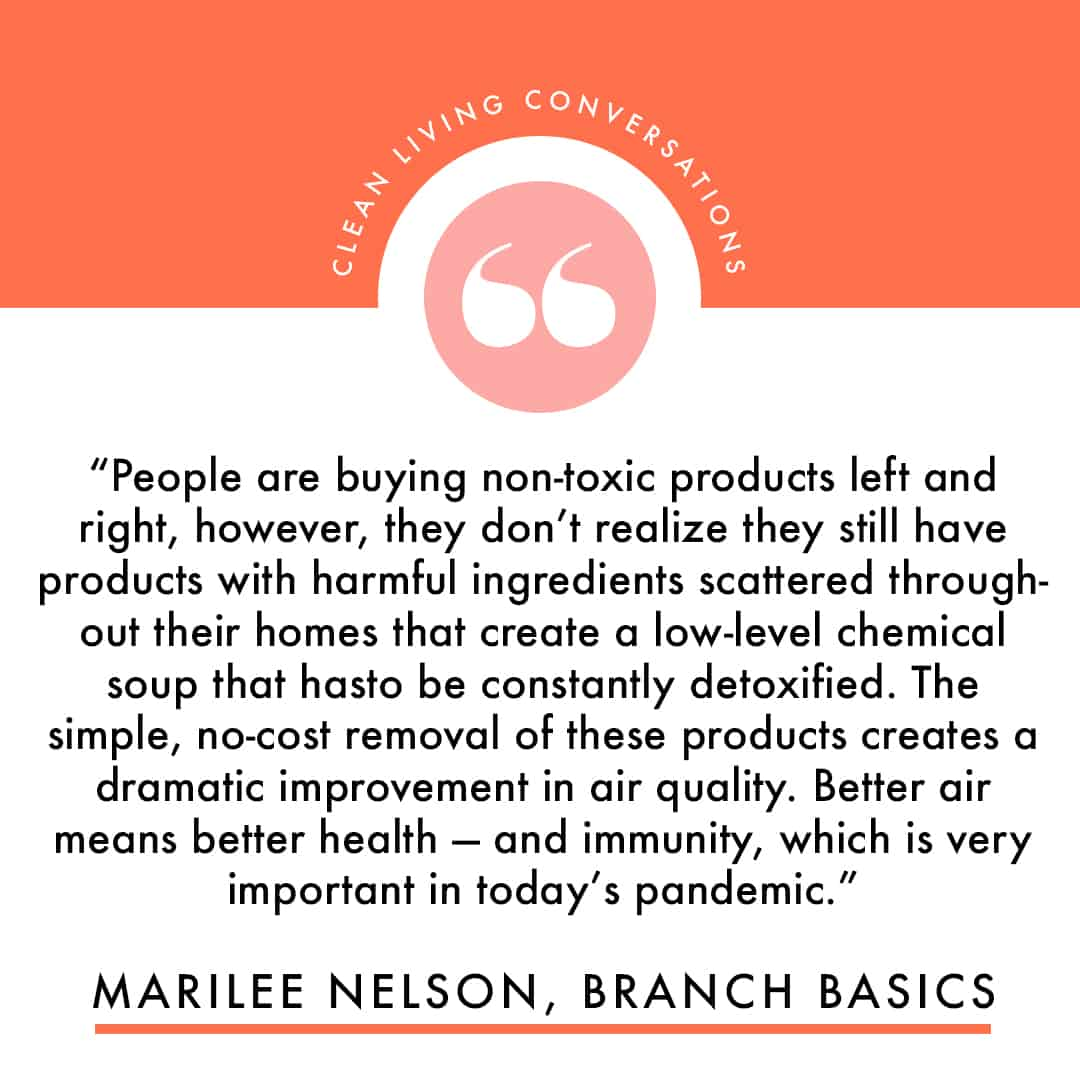 Quote from Branch Basics founder Marilee