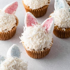 Easy Bunny Cupcakes (Gluten-Free)