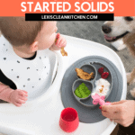 How We Started Solid Foods With Our Baby