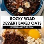 Rocky Road Baked Oats