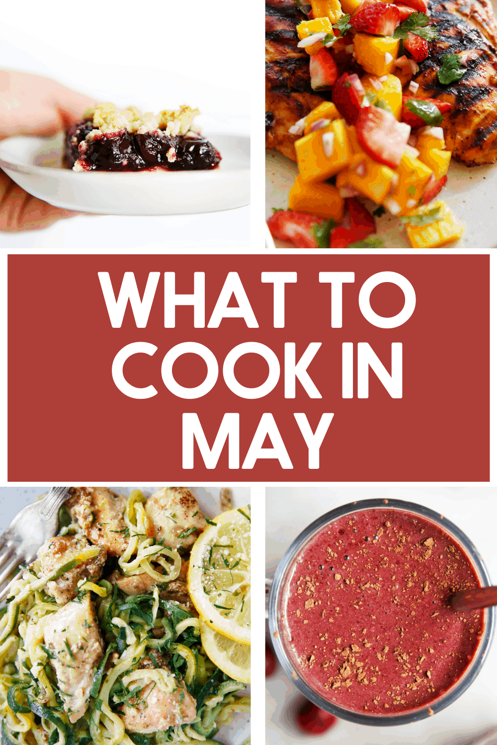 What to cook in may