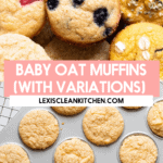 Baby oat muffins.