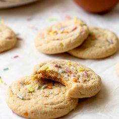 Gluten-Free Funfetti Cookies