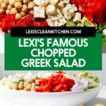 A greek salad.
