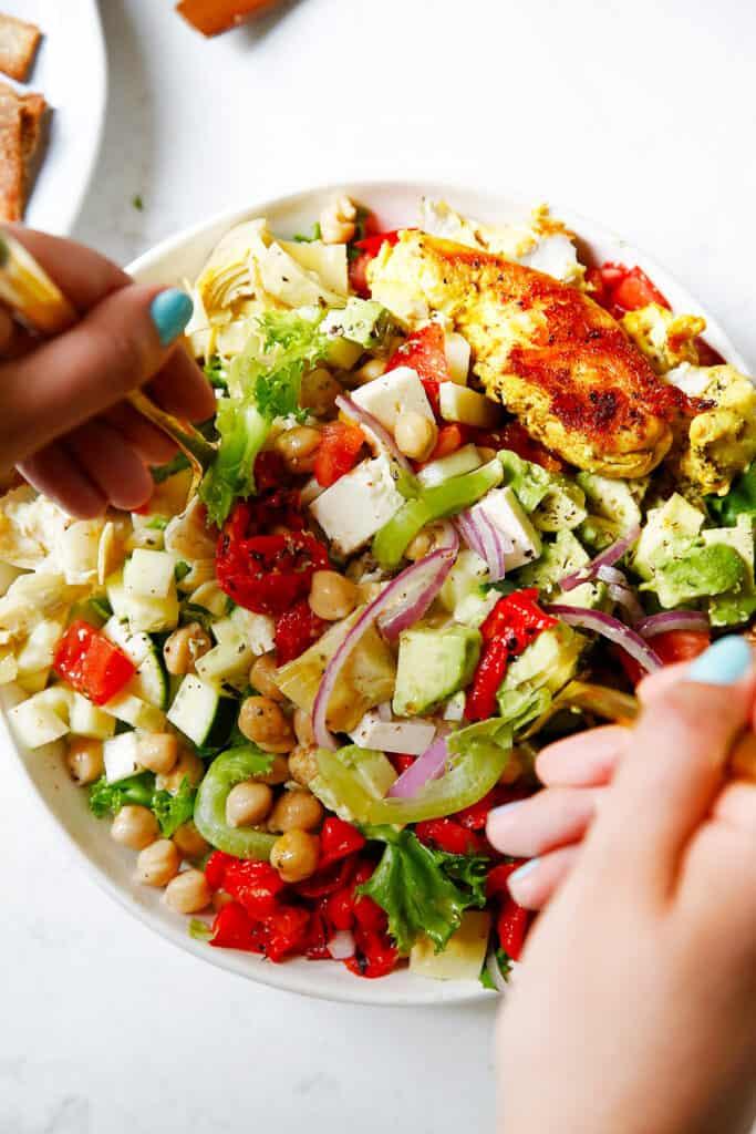 Lexis Chopped Greek Salad 5